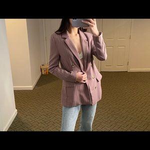 Topshop purple blazer